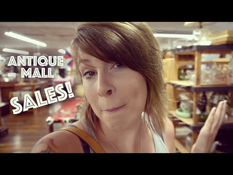 Bargain Shopping The Antique Mall Shop With Us Reselling Youtube