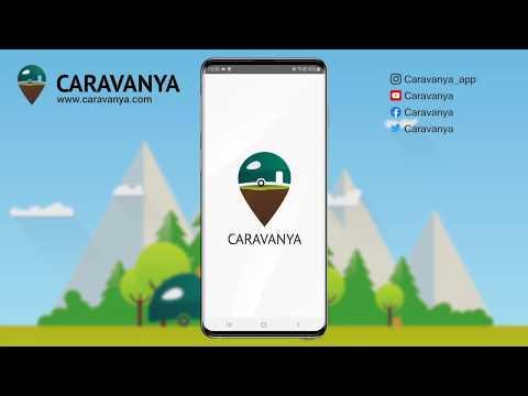 Caravanya - Die Stellplatz-App: Benutzeroberfläche und Filter