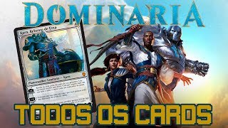 Dominária - Todos os Cards - Magic the Gathering - Spoilers - Game Over