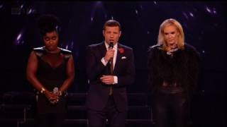 Kitty and Misha Bs dramatic showdown  - The X Factor 2011 Live Results Show 6 (Full Version) YouTube Videos