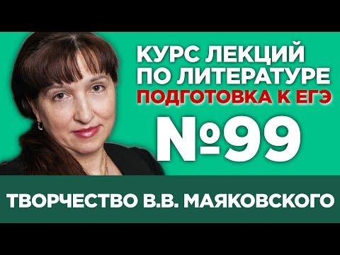 В.В. Маяковский (содержательный анализ) | Лекция №99
