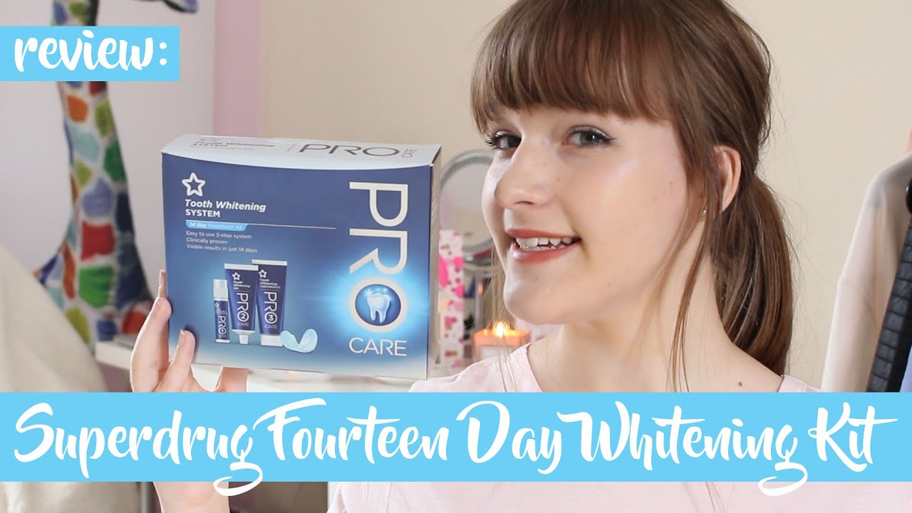 Superdrug Pro Care Fourteen Day Whitening Kit Review Jess Louise