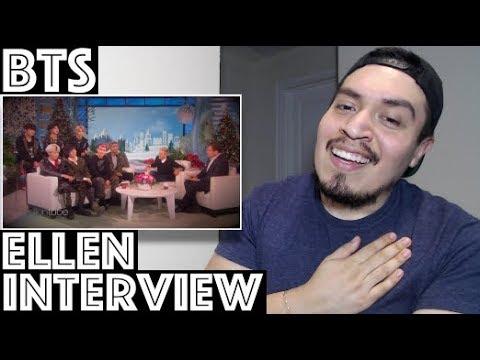 BTS Ellen Show Interview Reaction
