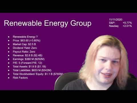 Renewable Energy Group Stock Analysis (REGI) | Value Investing | Growth Investing