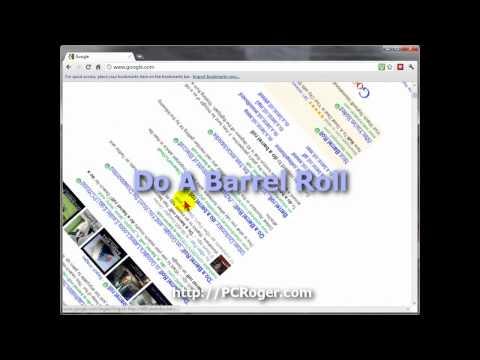 Make Google Do A Barrel Roll