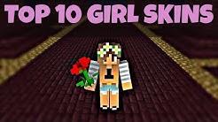 Top 10 Minecraft Girl Skins [Download]