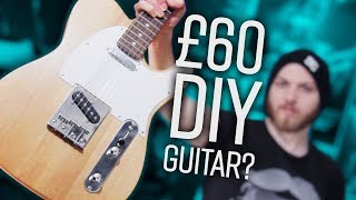 Are Cheap DIY Guitar Kits Really Terrible? | Pete Cottrell