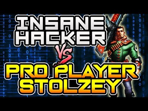 Insane Hacker in Paladins  ( SHOOTING THROUGH WALL ) vs Pro Player (Stolzey) | Ranked 2.0 Gameplay