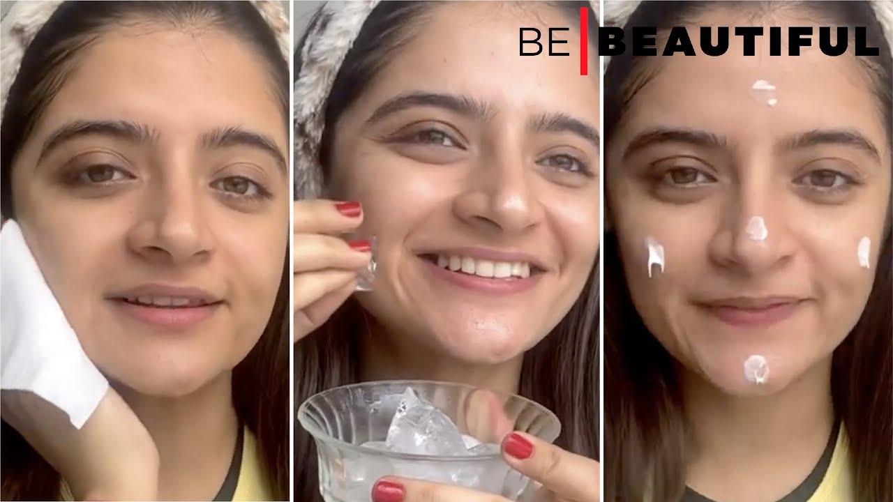 Benefits of Skin Icing 🧊 #skin #skincare #skincareroutine #ice #skincaretips #trendingnow #beauty