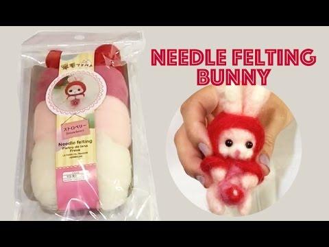 Baby alpaca needle felt tutorial youtube.