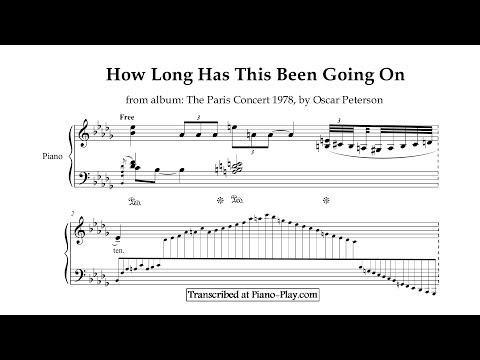 Клип Oscar Peterson - How Long Has This Been Going On