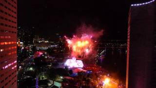 Ultra Music Festival 2016 fireworks!!!