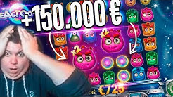 Record Win 150.000€ on Reactoonz slot - Top 5 Best wins of the September