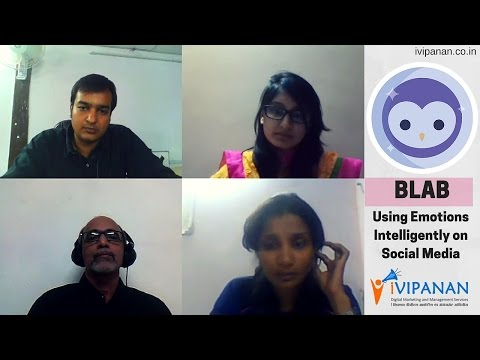 First Blab In Surat Organized by iVIPANAN - Using Emotions Intelligently On Social Media