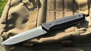 Steel Will Cager 1410: Urban Knife, D2 Tool Steel, Everyday Carry Possibility