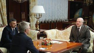 Лукашенко встретился с министром спорта России