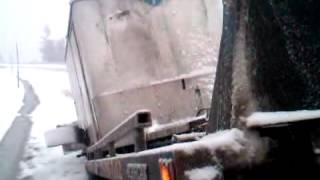 Donner Pass Broken Trailer