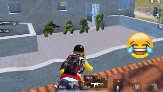 Trolling Blind Noobs 😜🤣 | PUBG MOBILE FUNNY MOMENTS
