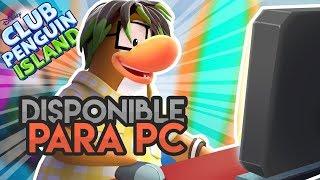 Jugando Club Penguin Island en PC