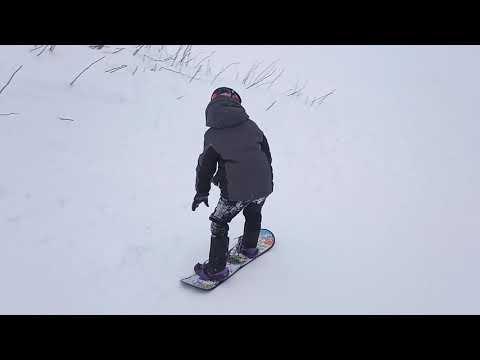 Детский сноуборд за 1000 рублей Тест детского сноуборда на прочность