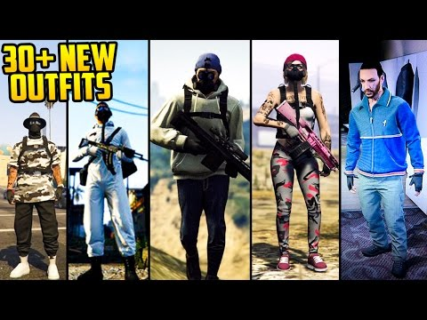 GTA Online: FASHION FRIDAY! 30+ NEW OUTFITS! (Niko Bellic, The Survivalist, Cafe Racer & More)