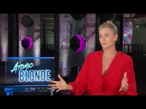 Charlize Theron Atomic Blonde Full Interview