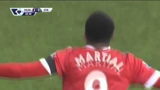 обзор матча Манчестер Юнайтед 3 0 Сток Сити