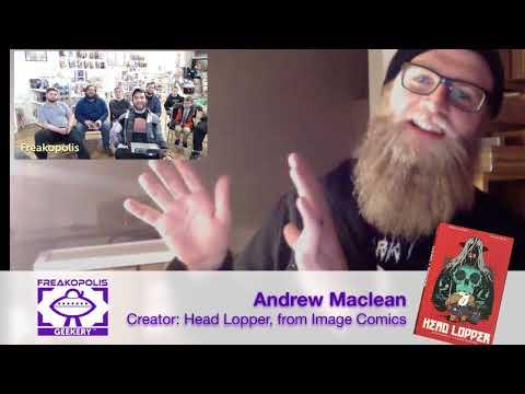 Head Lopper Creator Andrew Maclean - Freakopolis Creator Talks