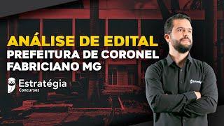 Concurso Prefeitura de Coronel Fabriciano MG: Análise de Edital thumbnail