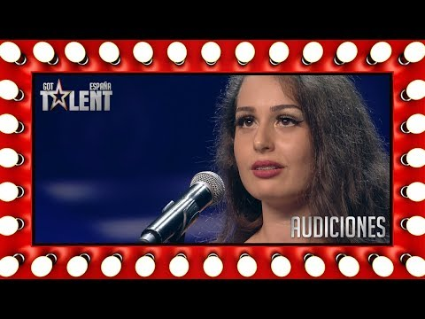 She came back to show her vocal abilities | Auditions 7 | Spain's Got Talent 2018 from YouTube · Duration:  4 minutes 14 seconds