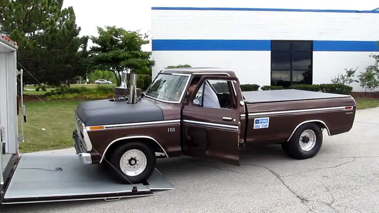 Randys Drag Truck Youtube