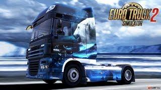 Euro Truck Simulator 2. Первые шаги, НЕГАБАРИТНЫЙ ГРУЗ 60т #1 (руль logitech g29)
