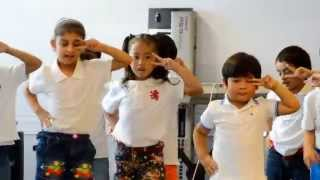 "5 Year Old Kids Dance to ""Hey Mickey"""