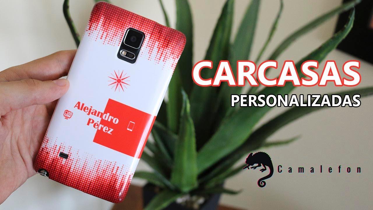 bbc6e85debd Crear carcasas personalizadas para tu móvil con Camalefon - YouTube
