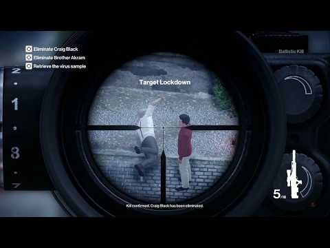 Hitman GOTY Edition - The Author - Sniper Assassin |