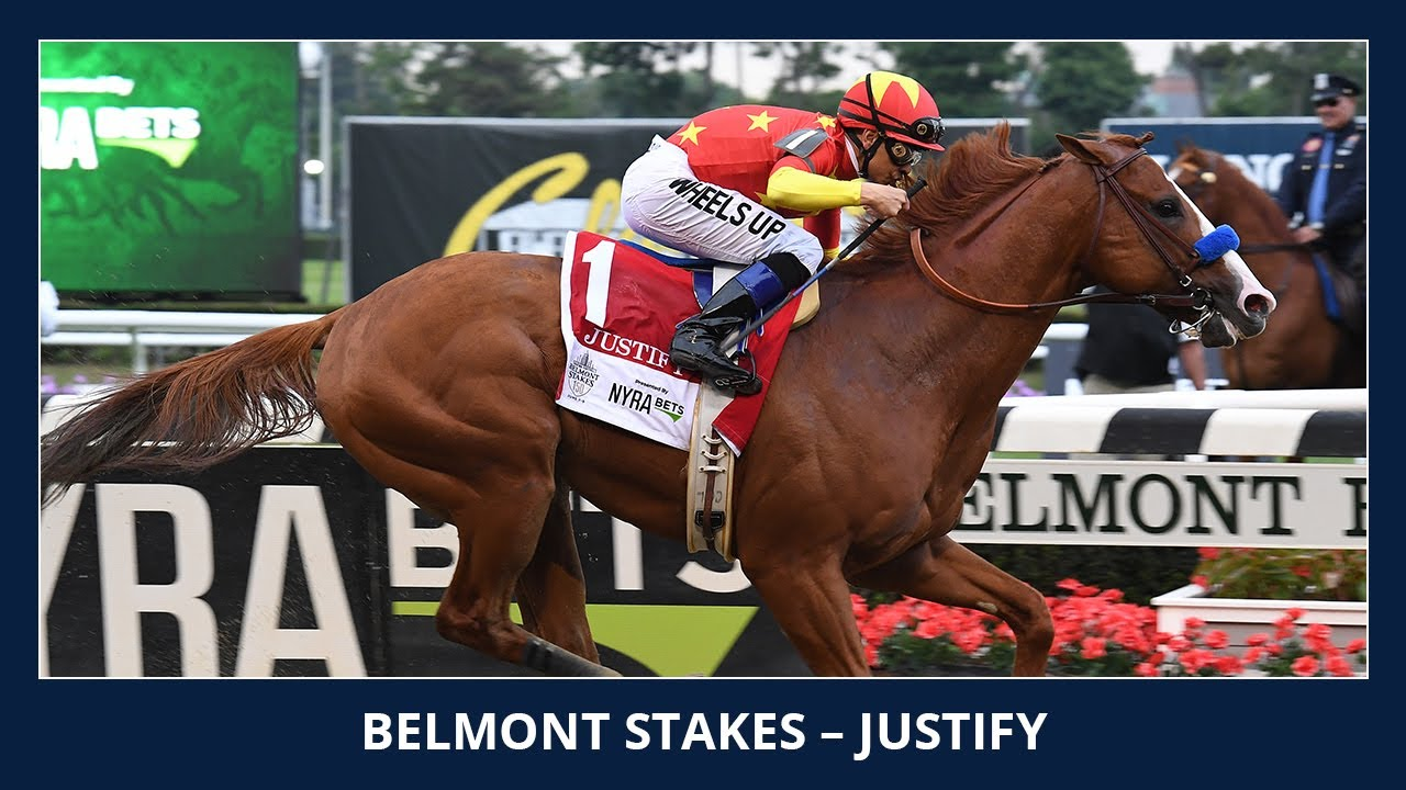 Justify wins the Triple Crown - 2018 Belmont Stakes (G1)