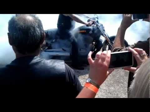 Iron Horseman Burnout Comp 2013