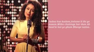 Neha Kakkar Naina Dangal Lyrics