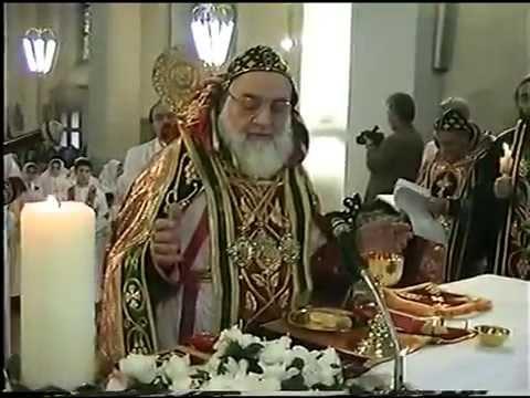 Patriarch Zakka I. Iwas - Syriac Orthodox Church - Qurobo alohoyo - Leimen (Part 3) Oromoyo HD