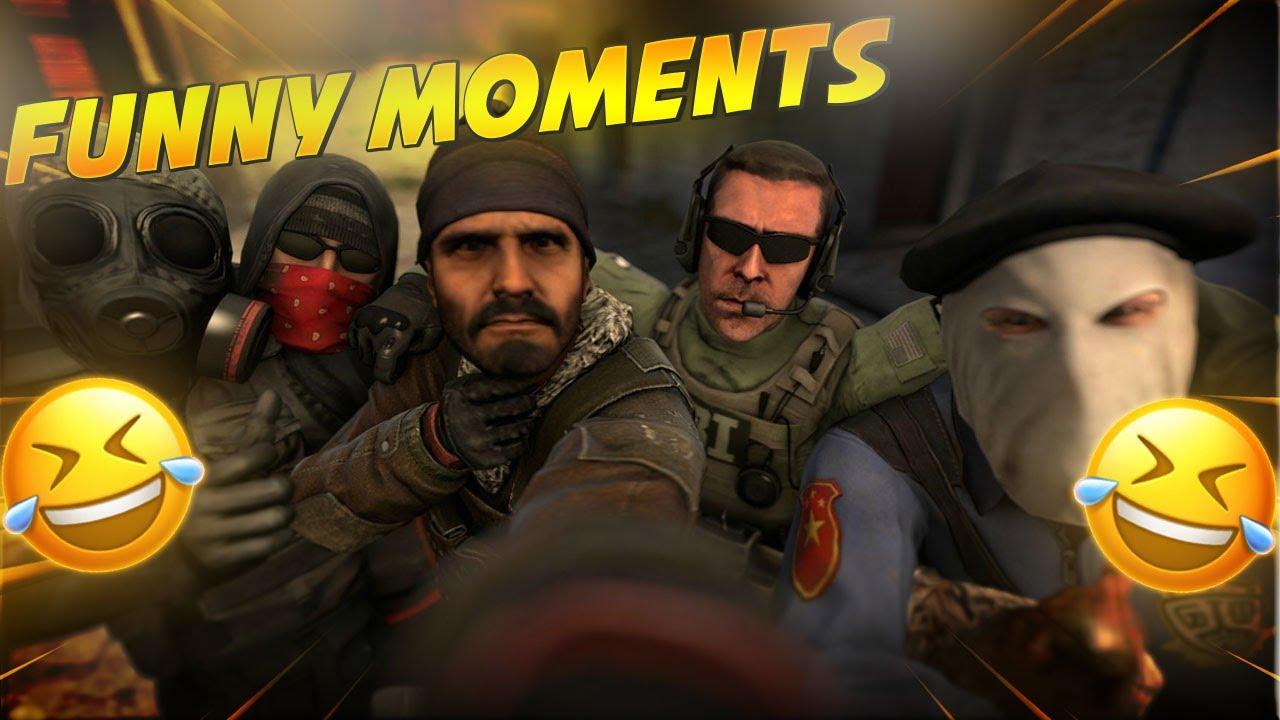 CS:GO FUNNY MOMENTS #1 *HILARIOUS* (WE MET A DRUNK RUSSIAN)
