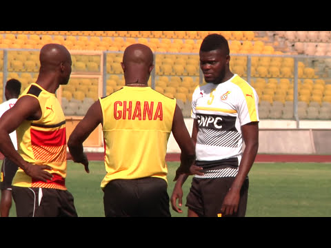 Ghana Black Stars final training session before Ethiopia game