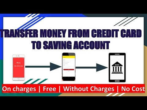 Credit card to bank account money transfer (Without Charges)