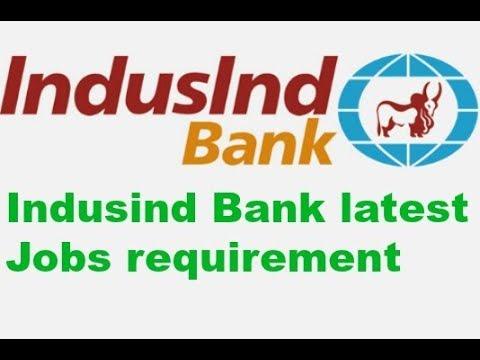 jobs in IndusInd Bank