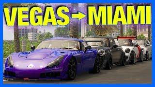 The Crew 2 Online : VEGAS to MIAMI!! (Gumball Rally)