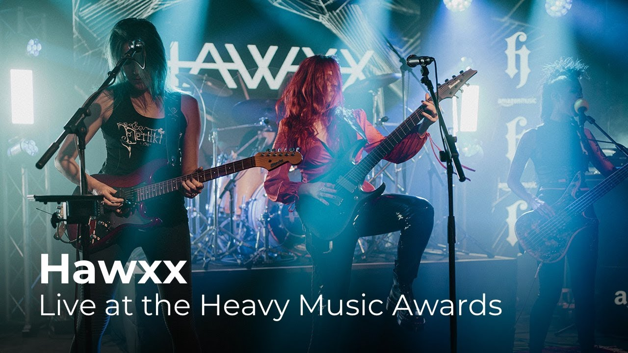 Hawxx - Blunt (Live at the Heavy Music Awards 2020)