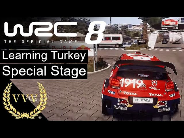 WRC 8 - Learning the Turkey Special Stage Mikkelsen SS1