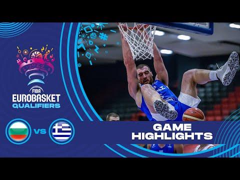 Bulgaria - Greece | Highlights - FIBA EuroBasket 2022 Qualifiers