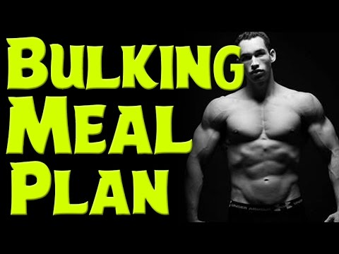 How to Bulk Up | Bulking Diet Plan | Bulking Meal Plan | How to build muscle fast