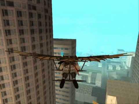 Gta Sa Assassin's Creed 2 Leonardo Flying Machine