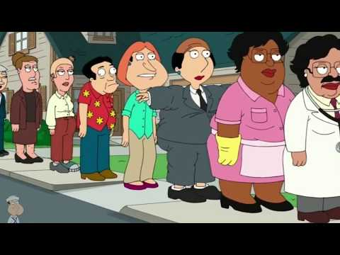 Family Guy - Brain Griffin Helping Stewie to over come his fear